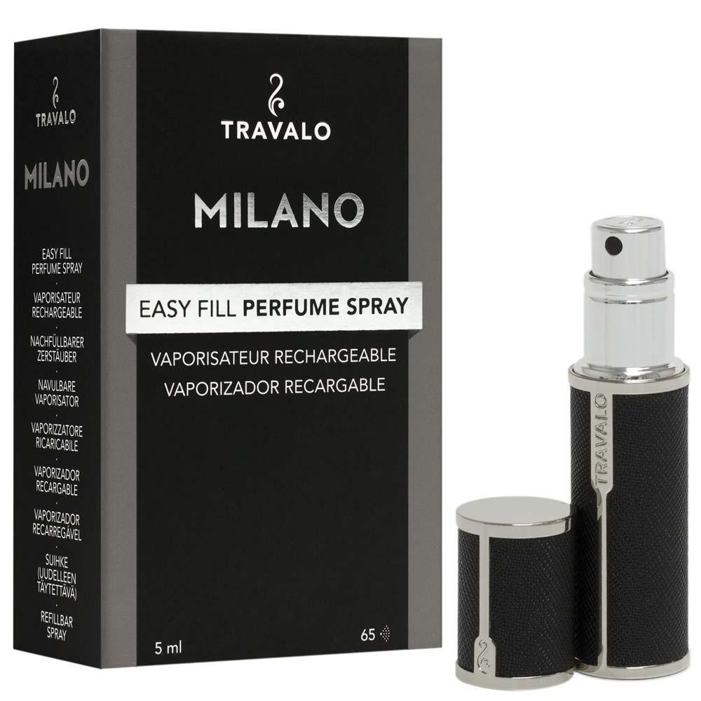 TRAVALO Milano Taschenzerstäuber Black
