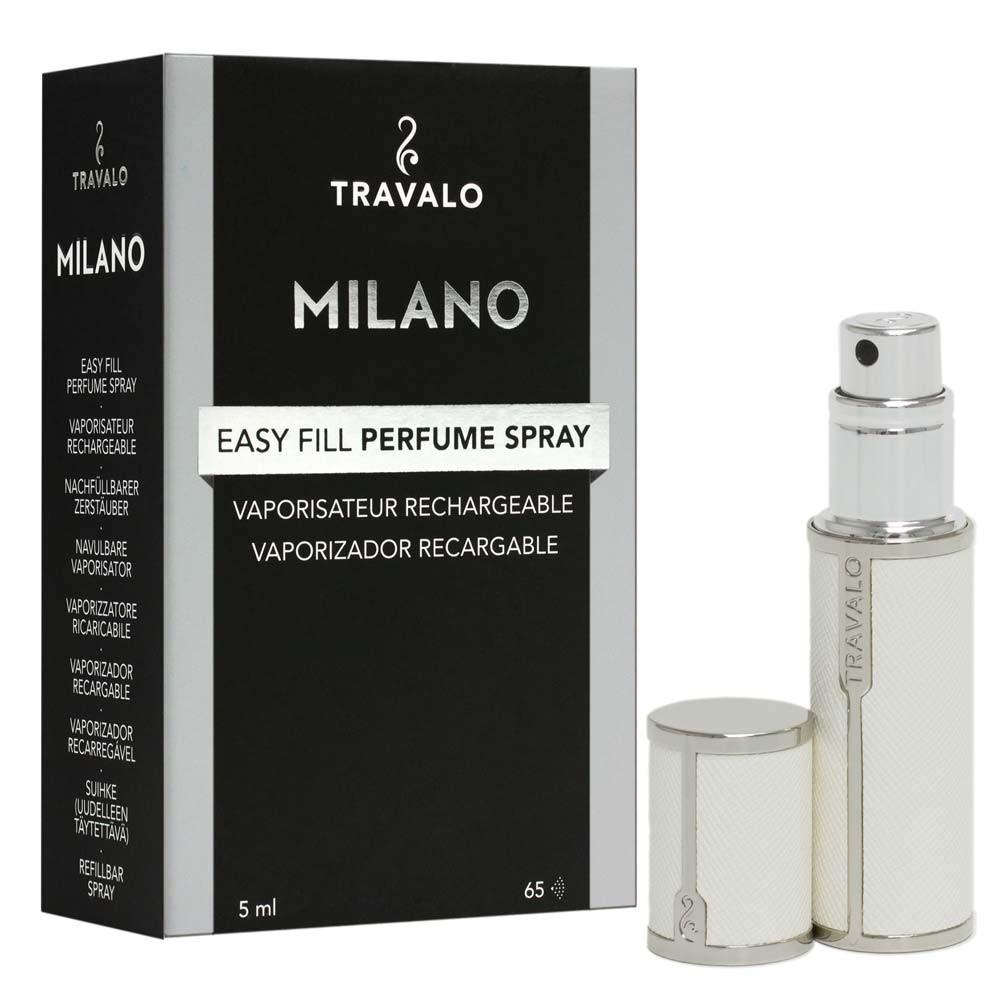 TRAVALO Milano Taschenzerstäuber White