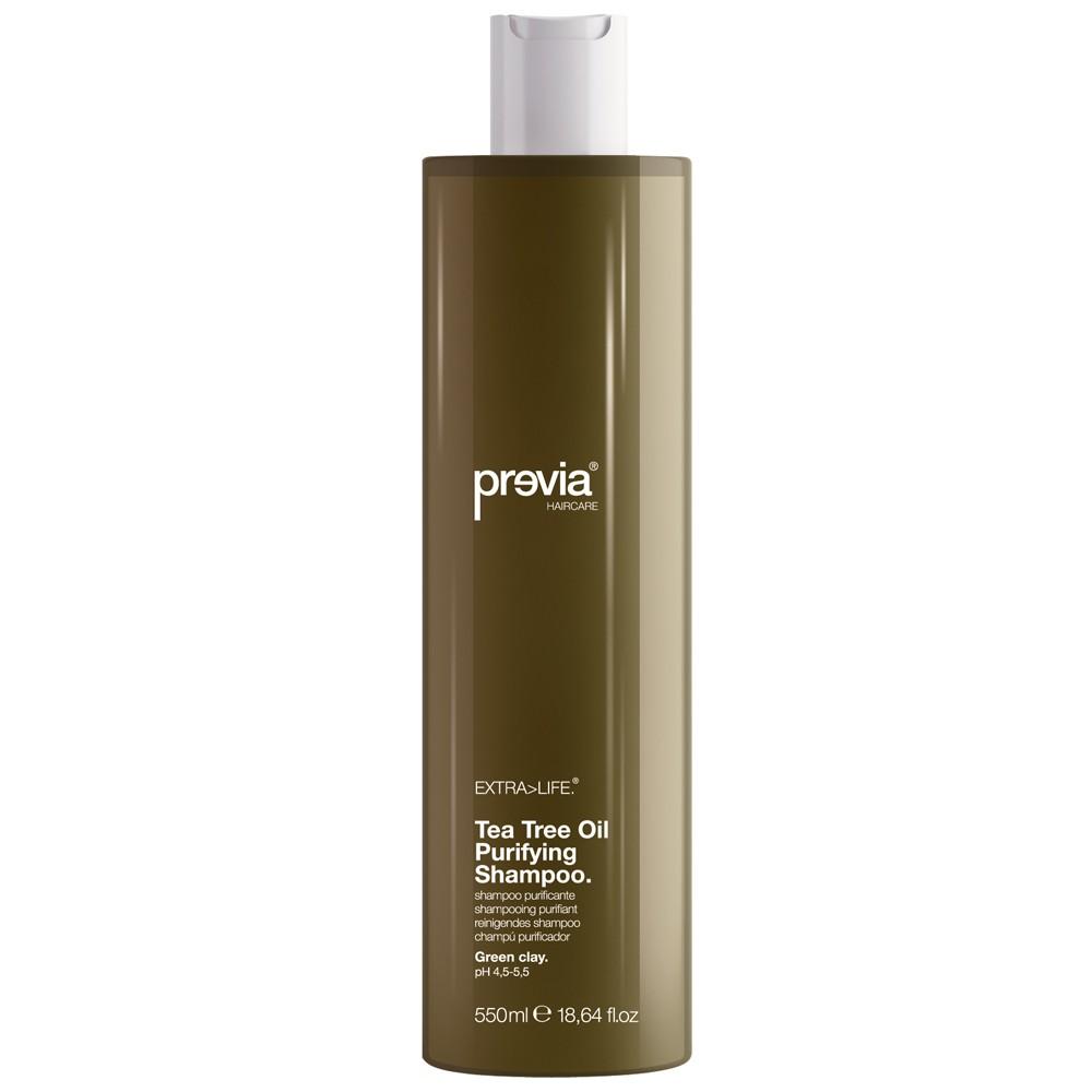 Previa Tea Extra Life Tree Oil Purifying Shampoo 550 ml