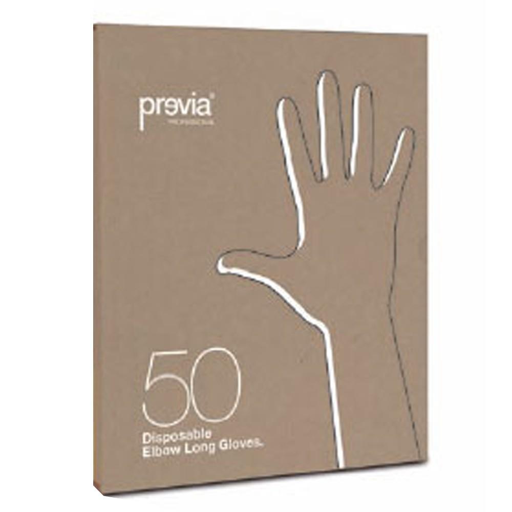Previa Einmalhandschuhe (Langarm) 50 Stück