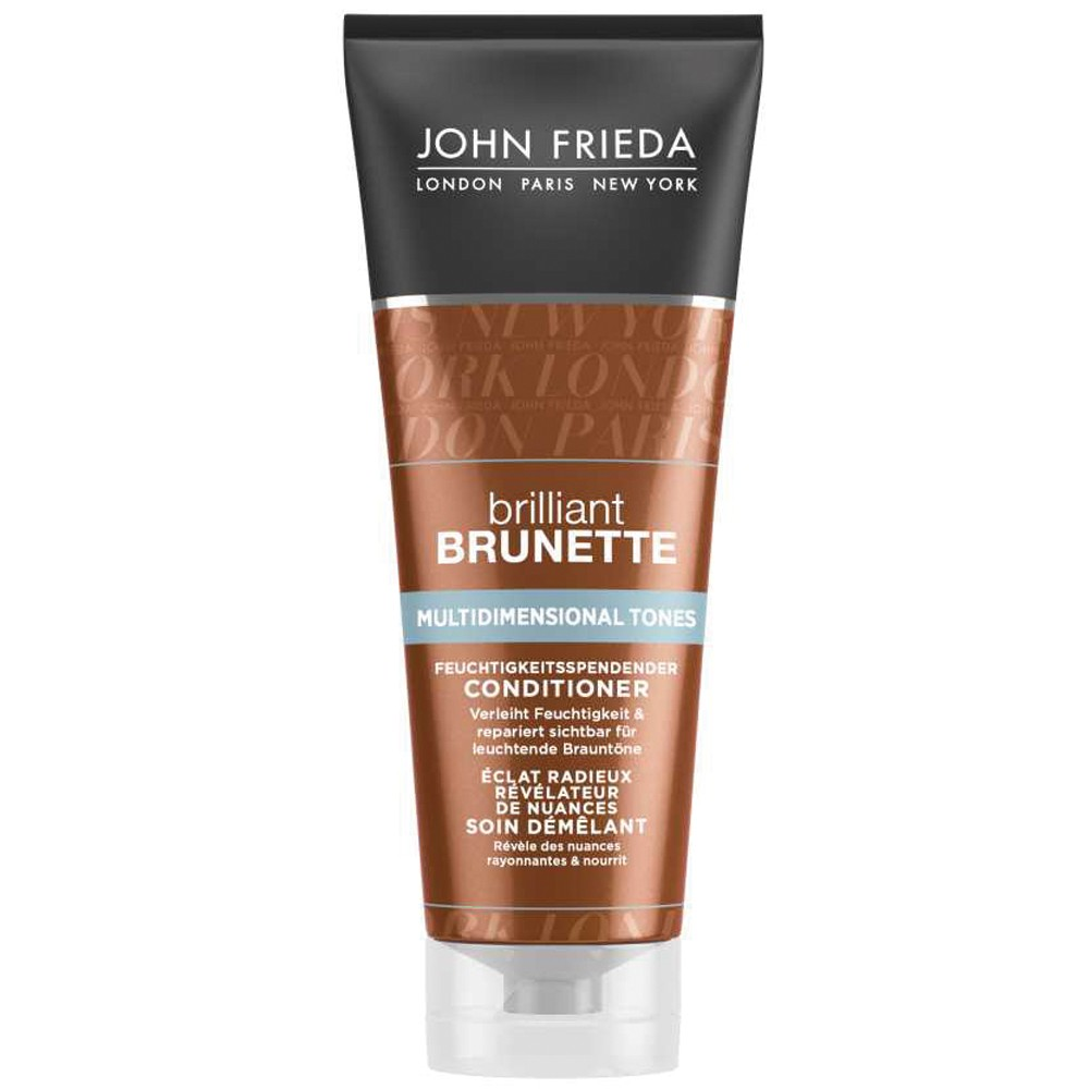 John Frieda Brilliant Brunette Multidimensional Conditioner 250 ml