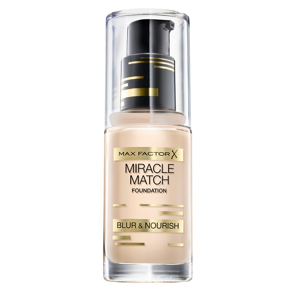Max Factor Miracle Match Foundation 40 Light Ivory 30 ml