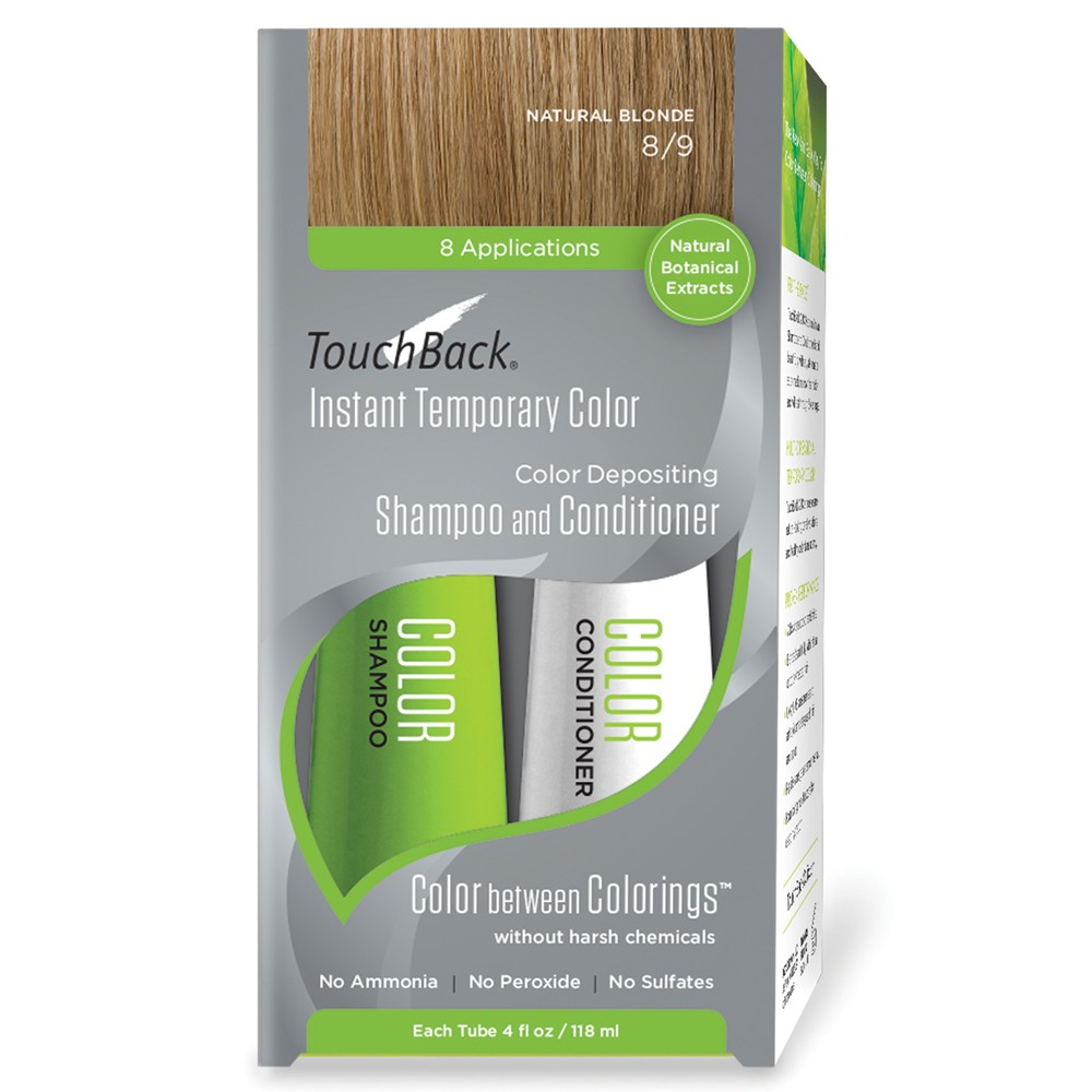 TouchBack Shampoo & Conditioner Set Naturablond 2 x 118 ml