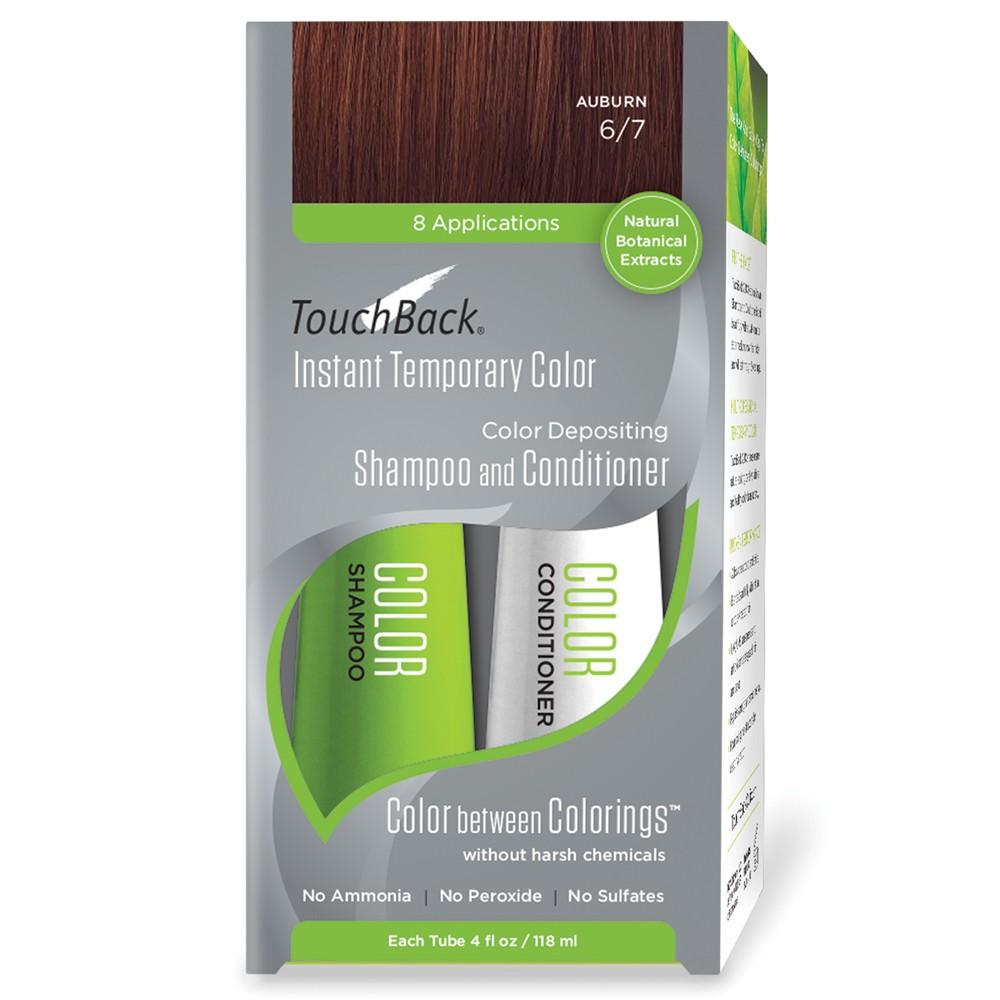 TouchBack Shampoo & Conditioner Set Auburn Rotbraun 2 x 118 ml