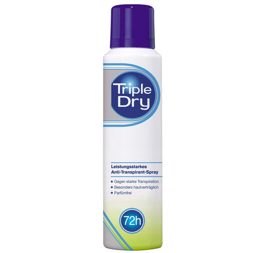 Triple Dry Anti Transpirant Spray 150 ml