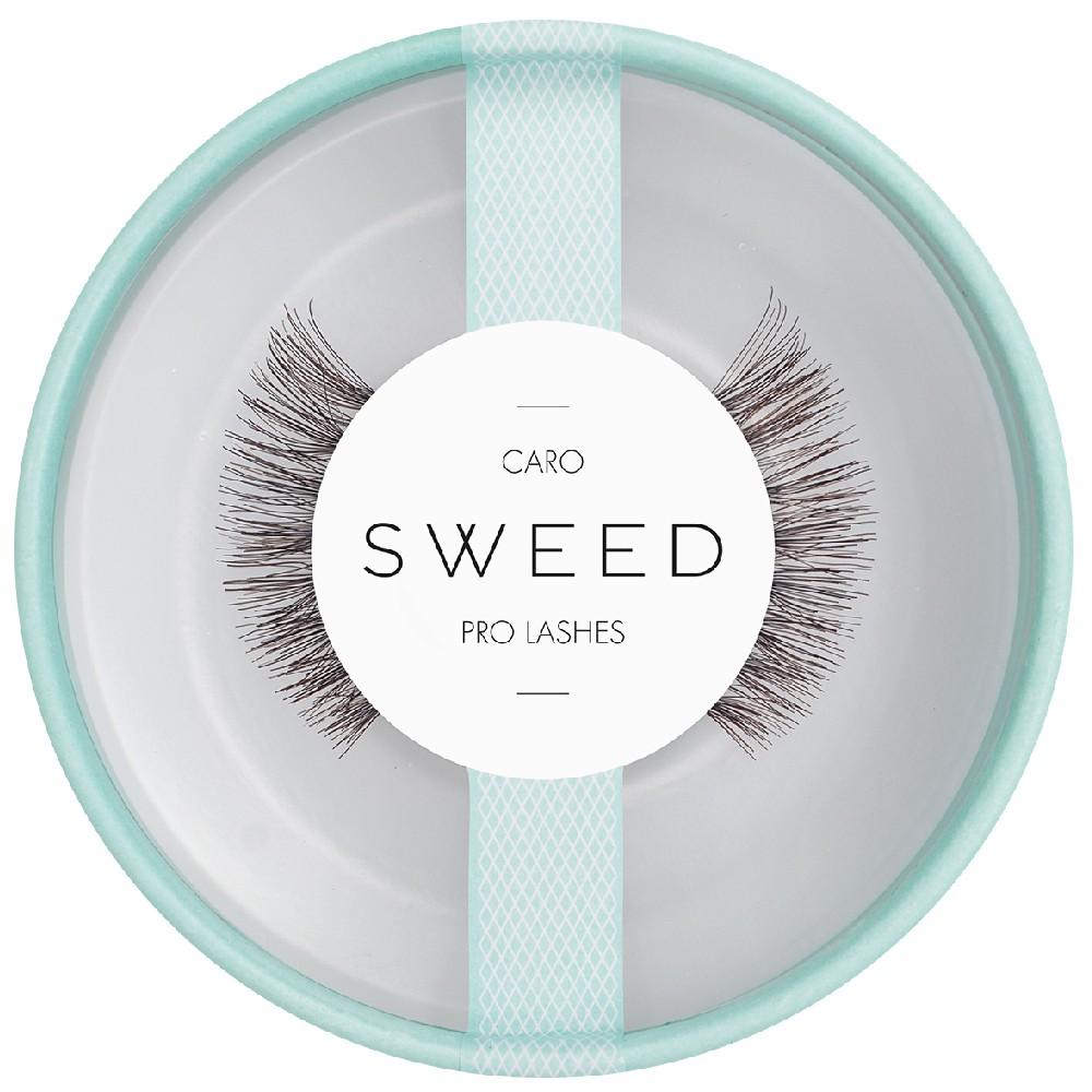 Sweed Lashes Braun Caro 1 Paar