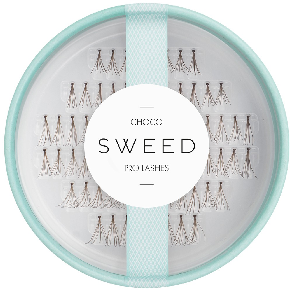 Sweed Lashes Braun Choco 72 Einzelwimpern