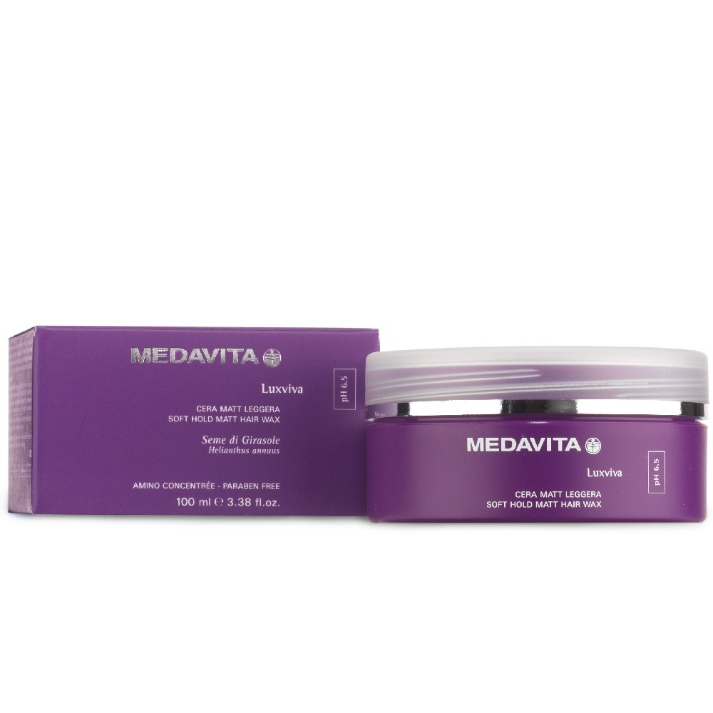 Medavita Soft Hold Matt Hair Wax 100 ml