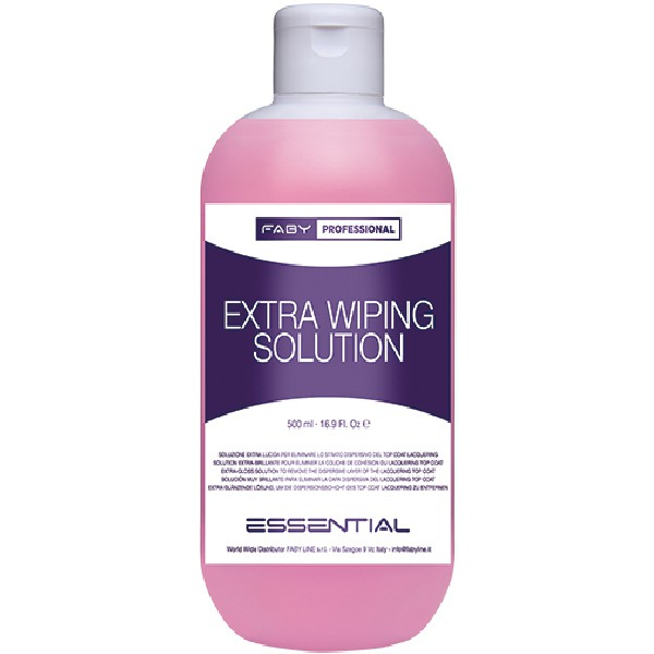FABY Extra Wiping Solution 500 ml