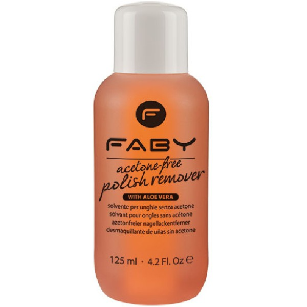 FABY Acetone free Polish Remover 125 ml
