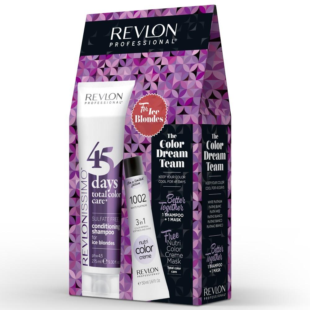 Revlon Revlonissimo 45 Days Ice Blondes Dream Team Set
