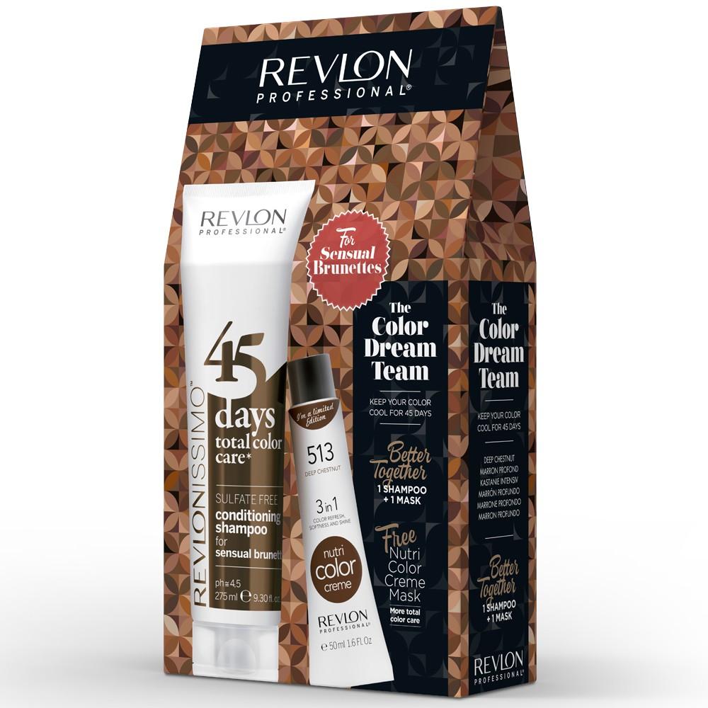Revlon Revlonissimo 45 Days Sensual Brunettes Dream Team Set