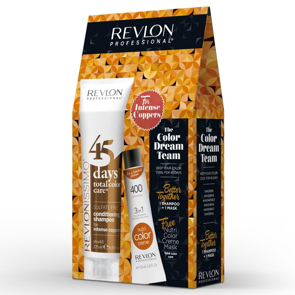 Revlon Revlonissimo 45 Days Intense Coppers Dream Team Set