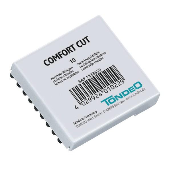 Tondeo Comfort Cut Klingen 10 Stück