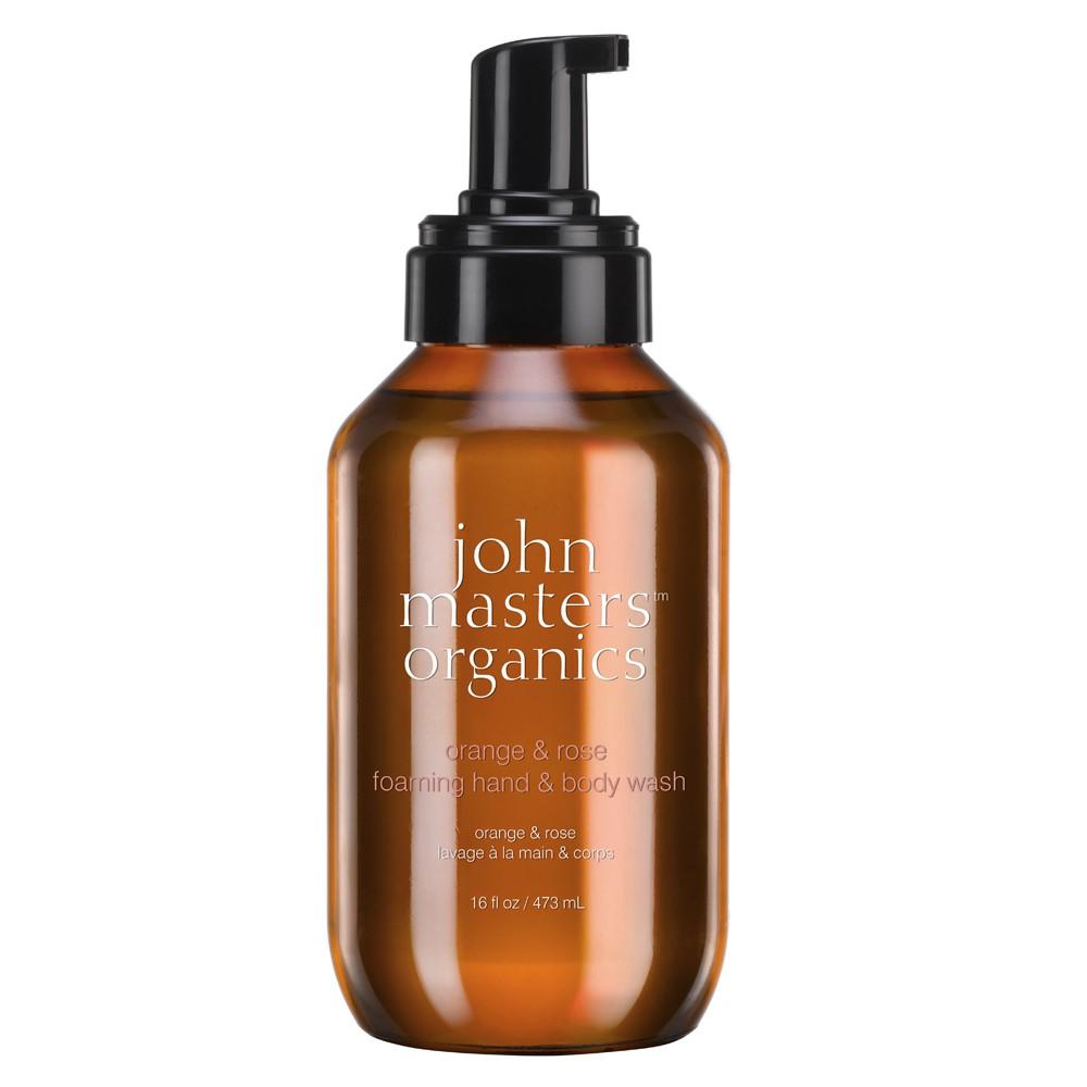 john masters organics Hand & Body Wash orange & rose 473 ml