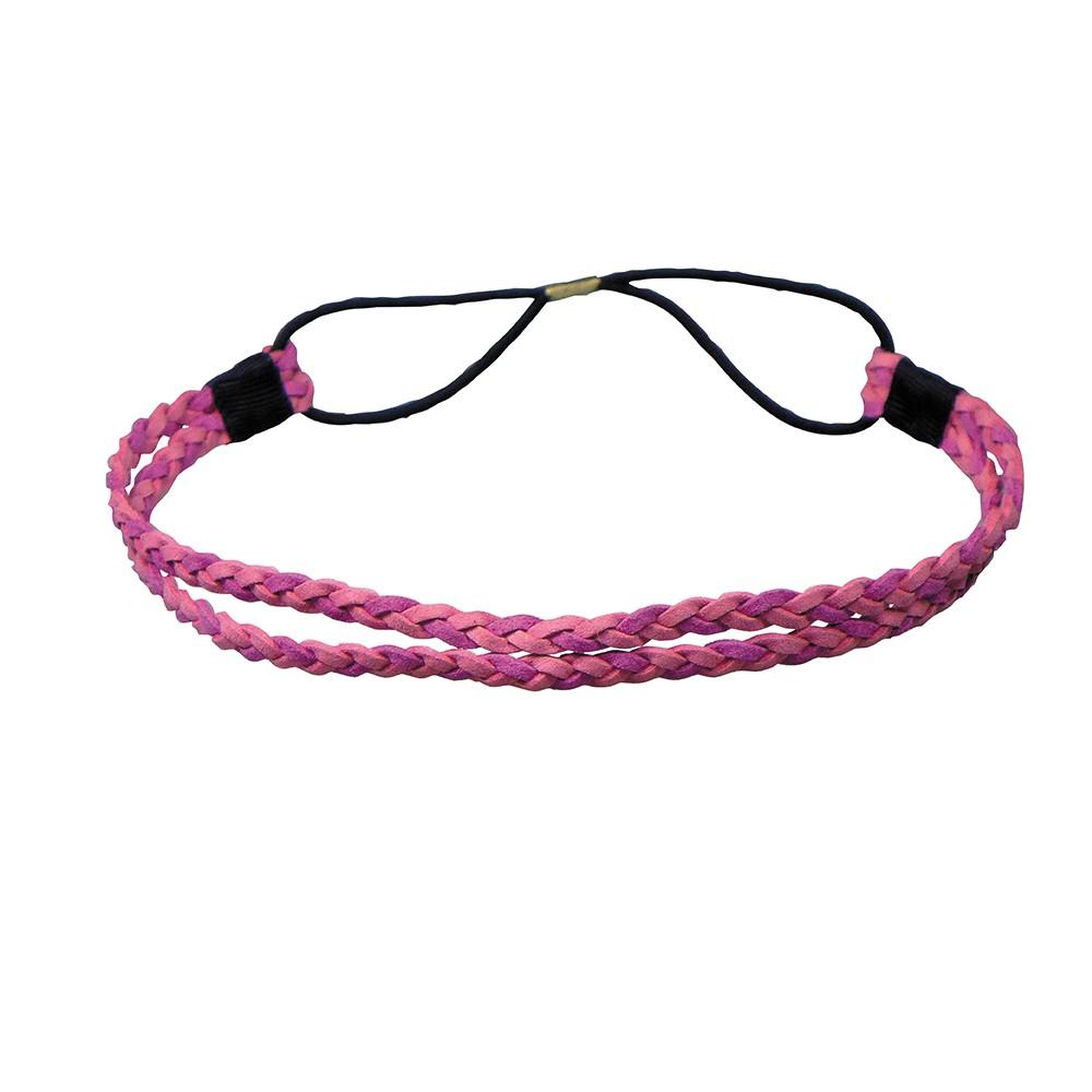 Comair Haarband rosa/lila zweifarbig