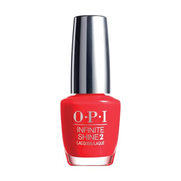 OPI Infinite Shine Unrepantantly Red Nagellack 15 ml