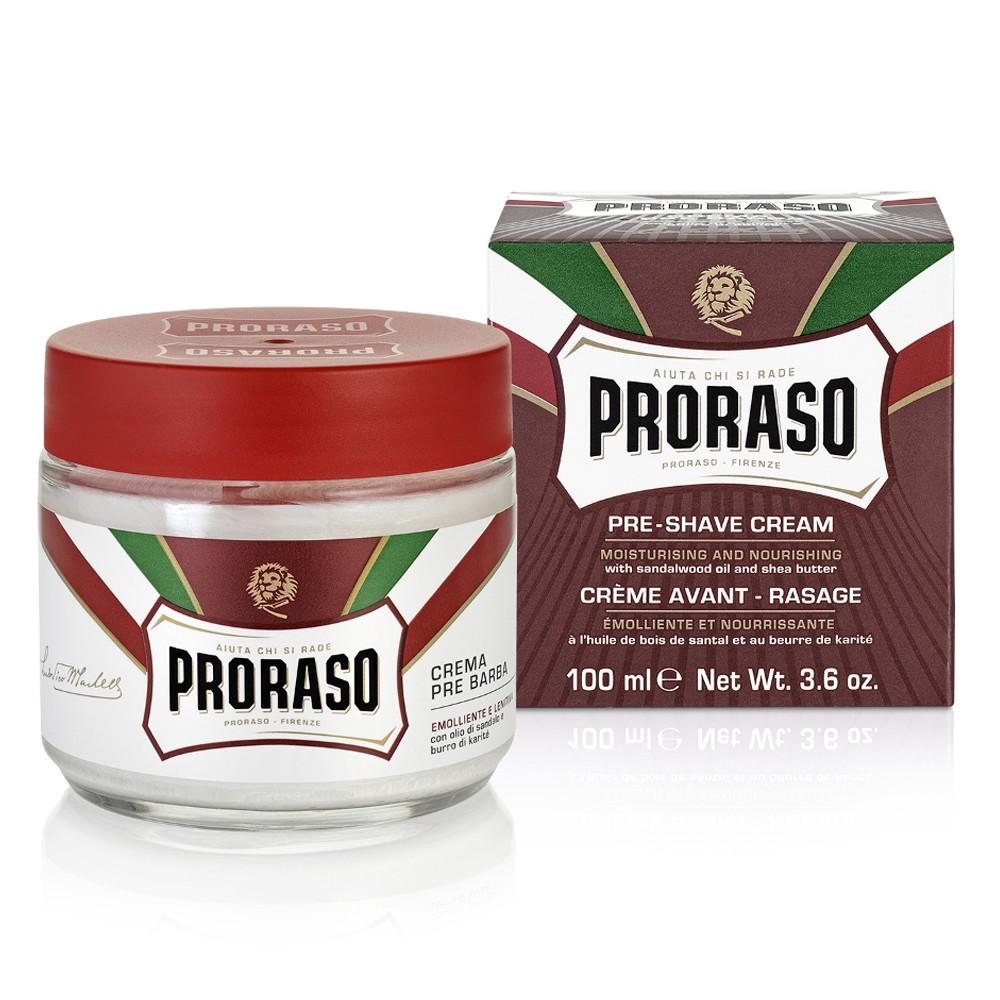 Proraso Rote Linie Pre-Shave Cream 100 ml