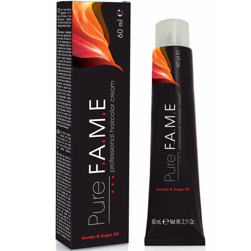 Pure Fame Haircolor 6.1, 60 ml