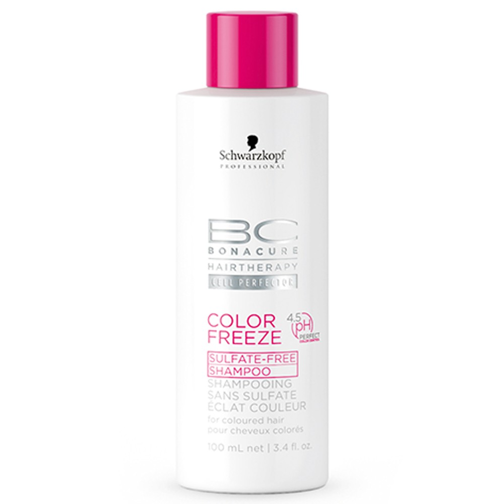 Schwarzkopf BC Bonacure Color Freeze Sulfatfreies Shampoo 100 ml