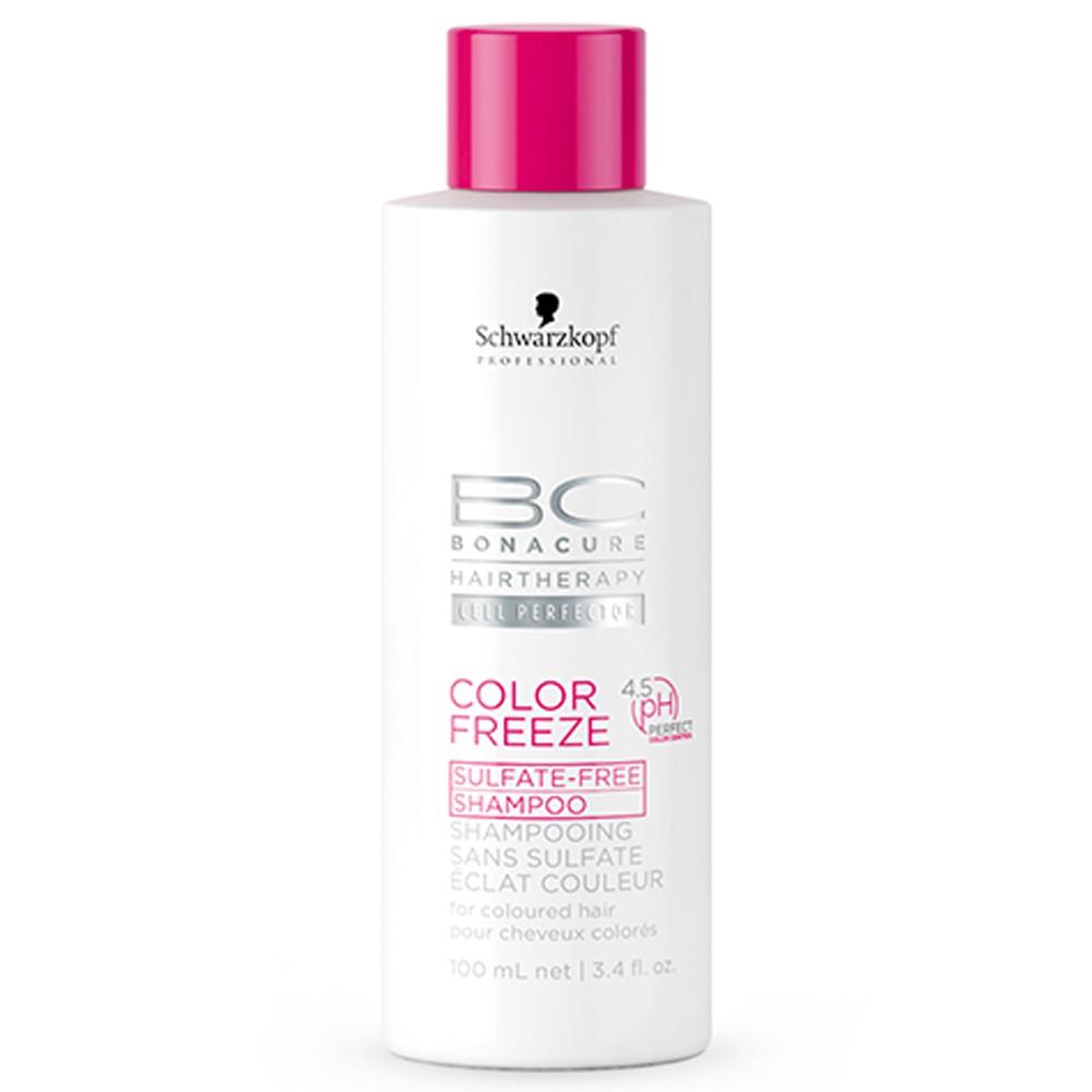 Schwarzkopf BC Bonacure Color Freeze Sulfatfreies Shampoo 100 ml
