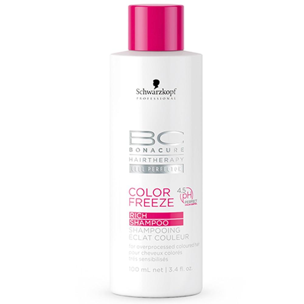 Schwarzkopf BC Bonacure Color Freeze Rich Shampoo 100 ml