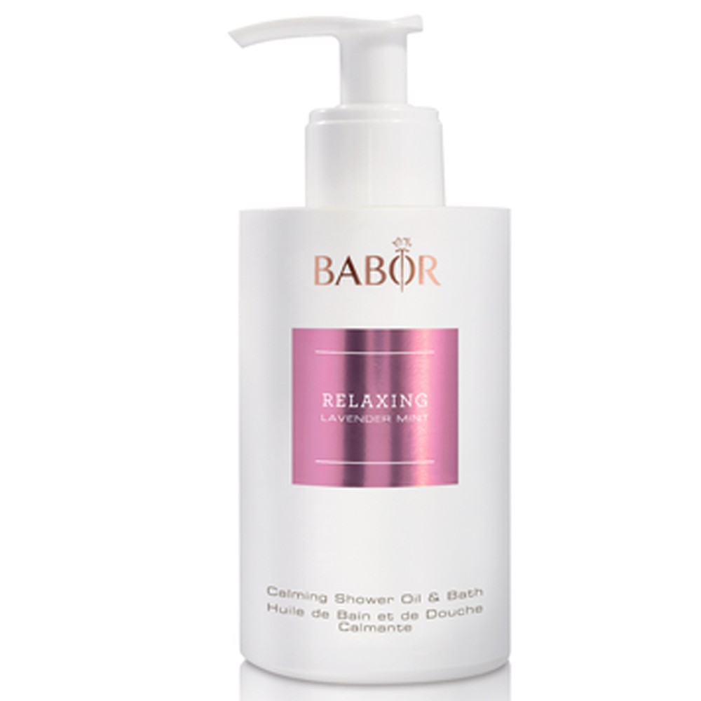 BABOR SPA Relaxing Lavender Mint Shower Oil & Bath 200 ml