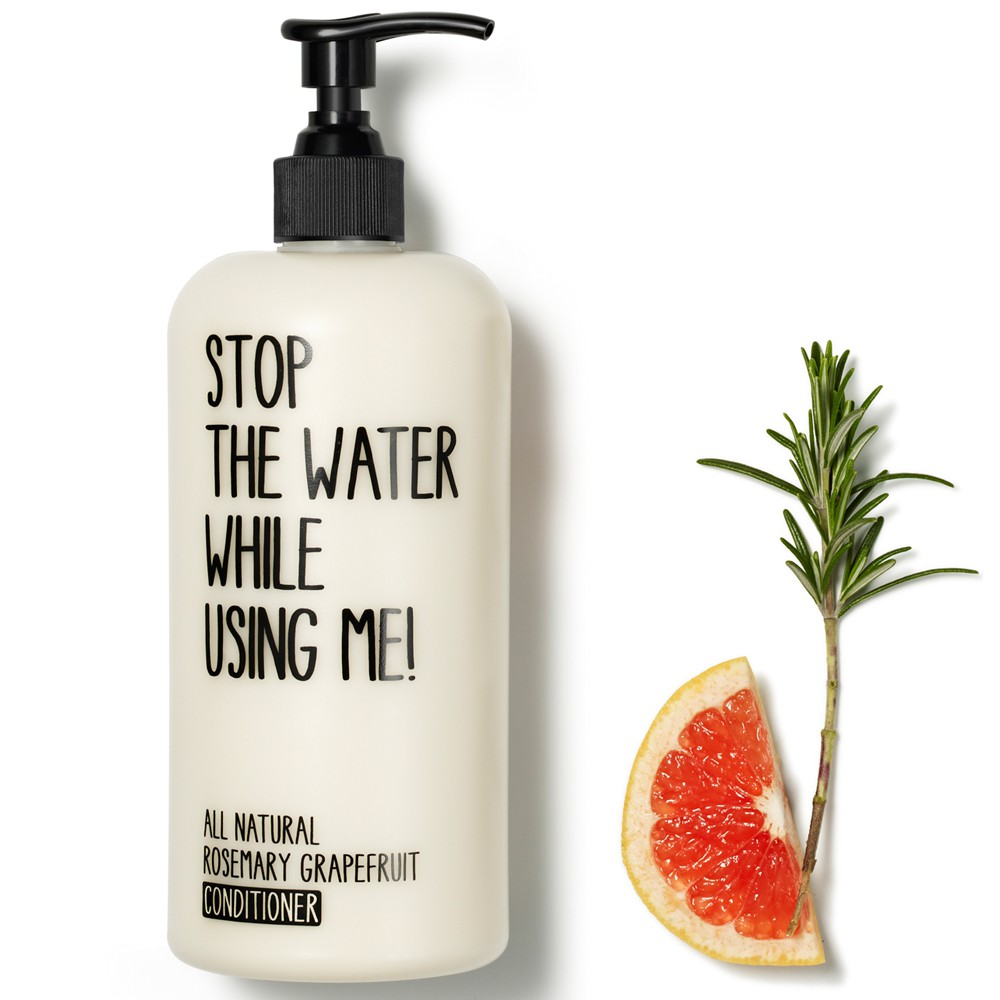 Stop the water while using me! All natural Rosemary Grapefruit Conditioner 200 ml