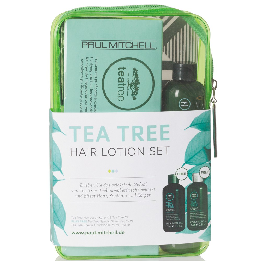 Paul Mitchell Keravis & Tea Tree Oil Hair Lotion Set