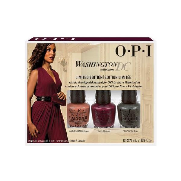 OPI WASHINGTON 3er Mini Pack 3 x 3,75 ml DCW09
