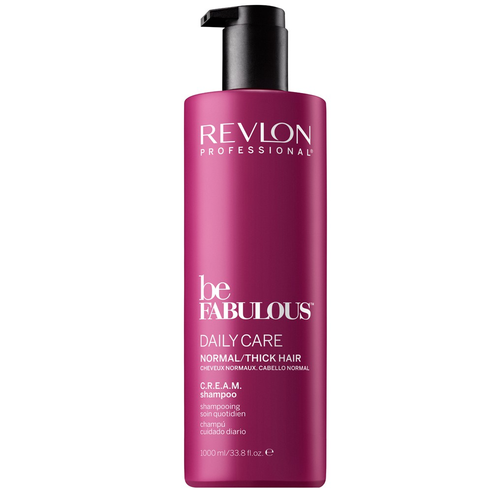 Revlon Be Fabulous Normal Cream Shampoo 1000 ml