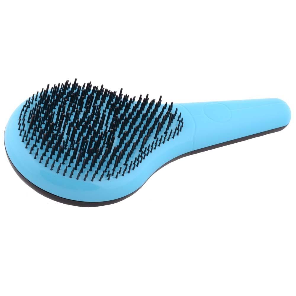 Michel Mercier Detangling brush blau für dickes Haar