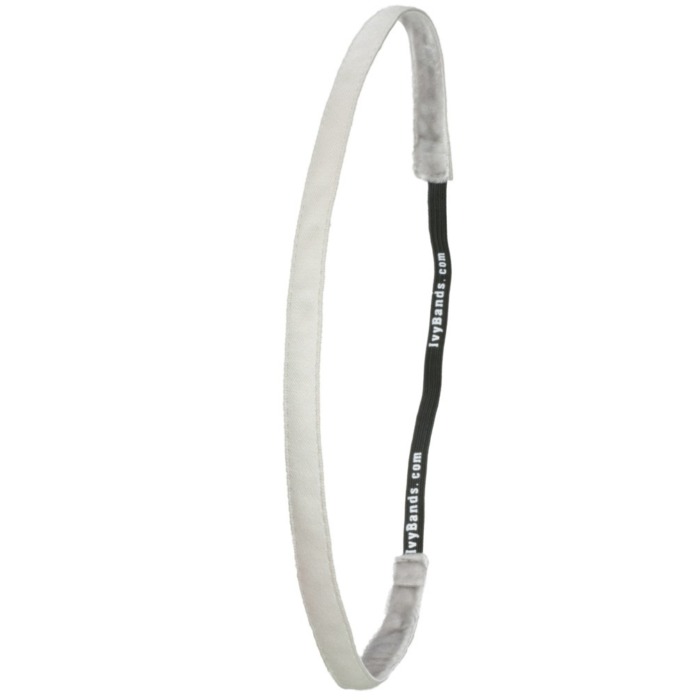 Ivybands Light Silver Super Thin Haarband