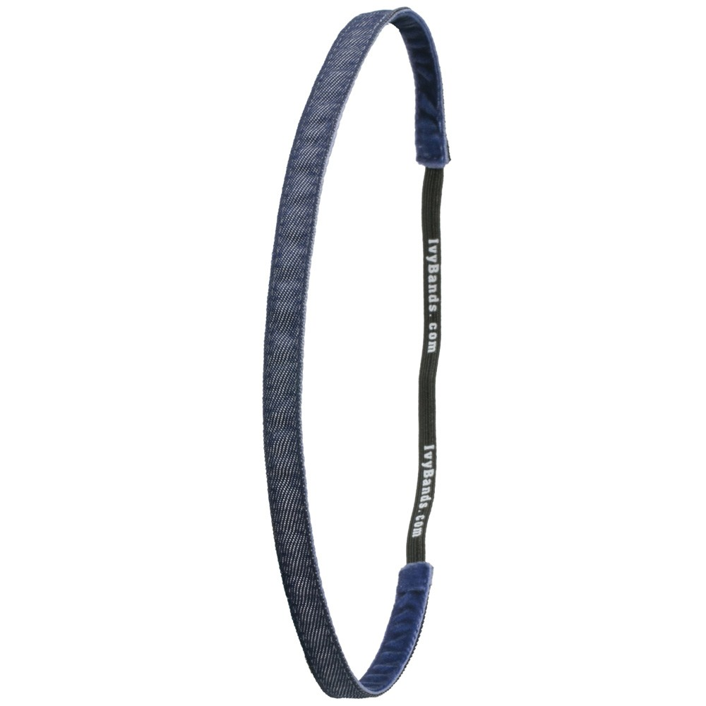 Ivybands Jeans blue Super Thin Haarband