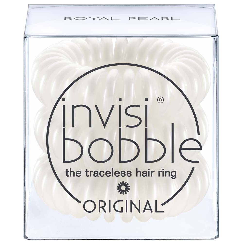 Invisibobble Royal Pearl 3er