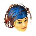 Efalock Gummi-Strähnenhaube in blau