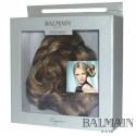 Balmain Elegance Bordeaux  Curl Clip short  Walnut