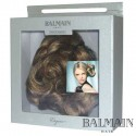 Balmain Elegance Cannes Curl Clip long  Chocolat Brown