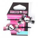 Solida Haarklemme Monster High schwarz 2 Stück