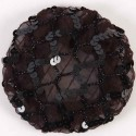 Solida Modeknotennetz schwarz
