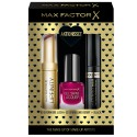 Max Factor Geschenk-Set Lipfinity 60+Gel Lac 55+Masterpiece
