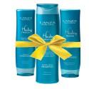Lanza Geschenkset Healing Moisture mit gratis Conditioner & Kosmetiktasche