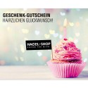 """Hagel Geschenk-Gutschein """"Hairzlichen Glückwunsch"""""""
