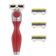Shave-Lab Starter Set SEIS Rouge P.L.6 WOMEN - Valentinstagsedition