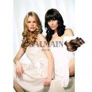 Balmain DoubleHair Color Extensions Contrast Brown