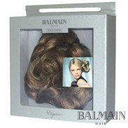 Balmain Elegance Bordeaux  Curl Clip short  Dark Espresso;Balmain Elegance Bordeaux  Curl Clip short  Dark Espresso