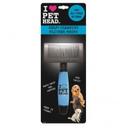 Pet Head Self Cleaning Slicker Brush Fellbürste;Pet Head Self Cleaning Slicker Brush Fellbürste