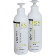 HairLiss Keratine Brasilianische Haarglättung  Shampoo + Conditioner