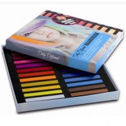 DailyDifferent Haarkreide 24 Farben Set