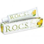R.O.C.S. Zitrone und Minze Zahncreme